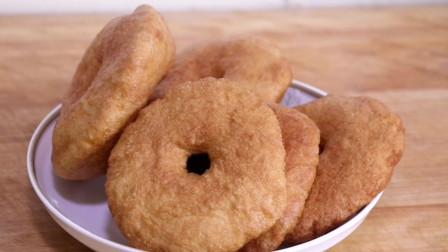 教你油饼的家常做法,外酥里软,步骤简单易学,太好吃了