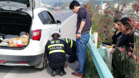 汽车高速上爆胎,在应急车道换胎扣6分?正确的做法应该是这样!
