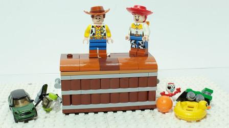 乐高定格动画:乐高砖建儿童动画