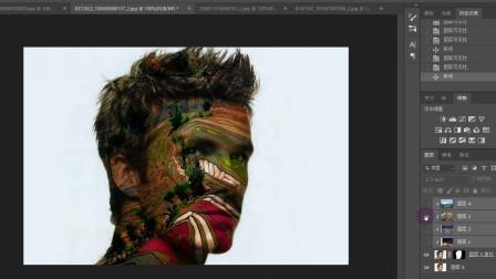 ps平面设计,好看的剪切蒙版图片效果制作
