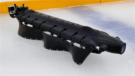 美国研发高能机器人,水陆两栖超魔性,还学会了滑冰!