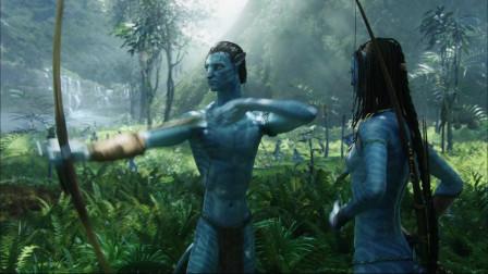 阿凡达:小伙开始学习外星知识,每天跟着外星美女一块玩