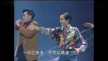 梅姐带着徒弟草蜢许志安谭耀文,嗨唱《梦伴》