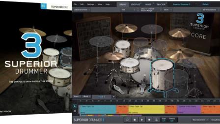 低配置低内存电脑玩转架子鼓分轨混音第二集-超级鼓手3分轨输出混音