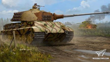 【欧战天空】闪电战之503重装甲营传奇 第三十五期最后的夏日(反击战)