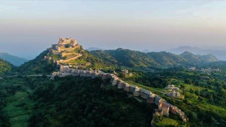 印度也有一座长城?修建花了100年,长度仅次于中国长城