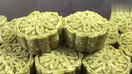 美食:绿豆糕最好吃最简单的做法,只需2步,一次成功,无任何添加,香