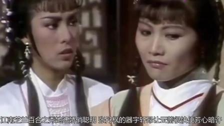 85版《萍踪侠影录》,米雪清纯俏丽,刘松仁大气潇洒,最美却是她