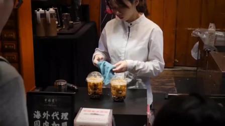 这才是正宗台湾珍珠奶茶,看完制作过程,感觉以前喝的都是假的!