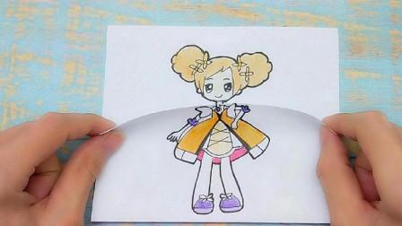 给小花仙夏安安画出可爱20岁,可换装大小简笔画,女生很喜欢