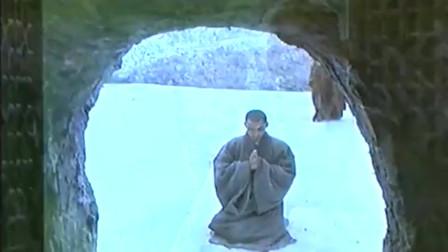 达摩祖师:神光雪中跪了三天三夜,面壁九年的达摩祖师为他转身!