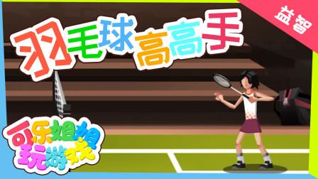 羽毛球高高手 来一场刺激的羽毛球比赛吧 适合4+