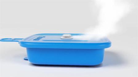 老外发明神奇饭盒,不用火不用电,随时吃上热乎饭!