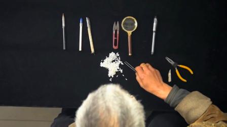 匠心传承,一粒米上能刻几十个字,究竟是怎样做到的?