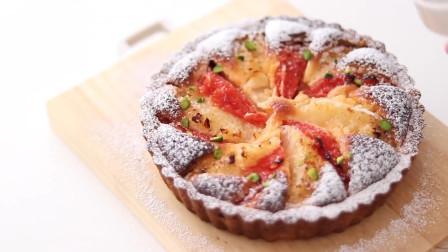 葡萄柚挞 外焦里嫩 鲜美甜香 两种水果美味搭档 回味无穷
