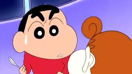 蜡笔小新:小葵第一次对小新叫哥哥,看把小新开心的!