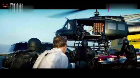 碟中谍为了一个男人, 竟然出动了直升机和战斗机, 不可思议。