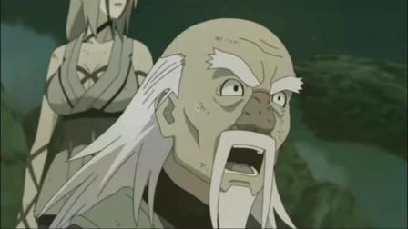 《火影忍者》纲手:祖父还和这样的人战斗过,斑:说了只有柱间能和我抗衡