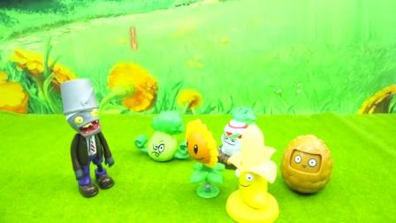 新款植物大战僵尸玩具,玉米加农炮坚果菜问向日葵和僵尸玩具