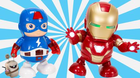 漫威复仇者联盟 摇摆的钢铁侠和美国队长