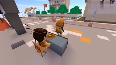 迷你世界故事:乞丐的一颗糖,财主出20万来买,他却拿着糖跑了
