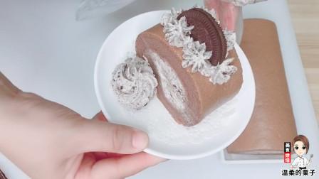 奥利奥奶油做法,6片奥利奥饼干,这样做的蛋糕卷,好吃不腻收藏