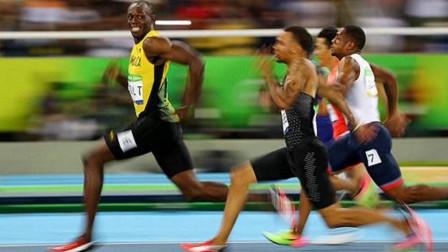 巅峰刘易斯和博尔特谁更快?放在奥运会上,博尔特甩他0.36秒