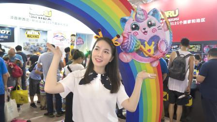 2019北京玩博会 婷婷姐姐发现了什么超好玩的玩具呢?