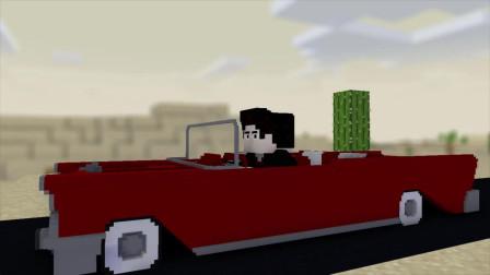 我的世界动画-飞越奶牛-Andrew
