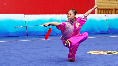 2018年全国青少年武术套路锦标赛 B组 女子剑术 012 杨凯歌(河南)第四名