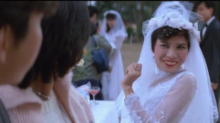 《恭喜发财》谭咏麟神仙下凡初见柏安妮,丘比特之箭射错人