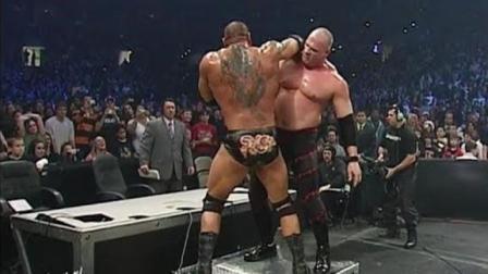 WWE《最后站立着》野兽巴蒂斯塔 vs 红色杀人机器 凯恩
