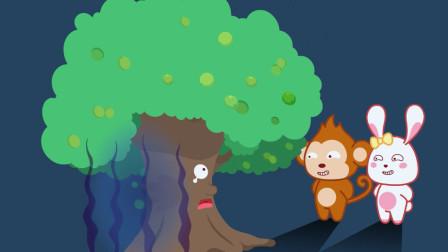 猫小帅故事 第482集 核桃树
