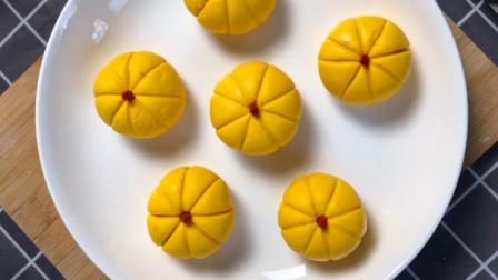 做南瓜包的秘诀,面点师教你诀窍,个个香甜松软,大人孩子都爱吃