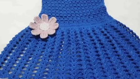 「母婴针织」漂亮时尚的女童连衣裙