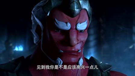 九神战甲:大块头竟然真的是夜叉王的弟弟,夜叉王跟他说话的语气就像是训斥家人