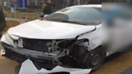 16岁男孩,用母亲证件注册共享汽车,凌晨撞向护栏后逃逸