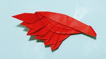 教你折纸天使之翼,折好可以当书签,小朋友们很喜欢!