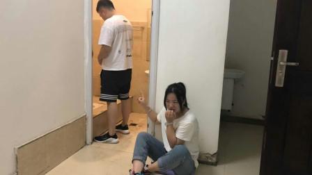 结婚20年丈夫从没去过厕所,一天撞开厕所门,吓得屁滚尿流