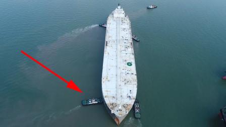 航母自己有动力,为什么进出港时,还要用拖船拖着