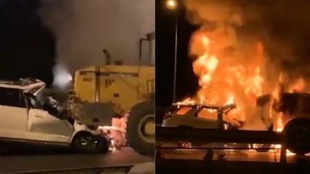 北京南四环追尾事故致两人死亡 前车司机疑未移车救人遭路人痛斥