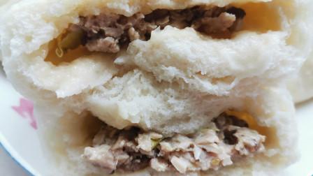 教你香菇肉包子的做法,简单易学,个个暄软超好吃