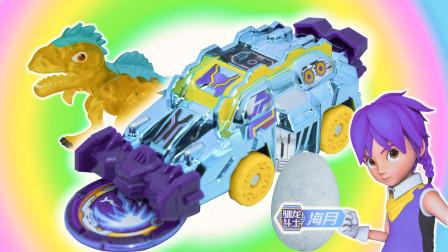 心奇爆龙战车升级版,铁甲狩猎者星火迅猛龙