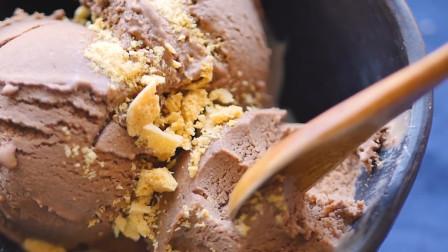 高热量的国家,高热量的冰激凌,一口接一口的美味