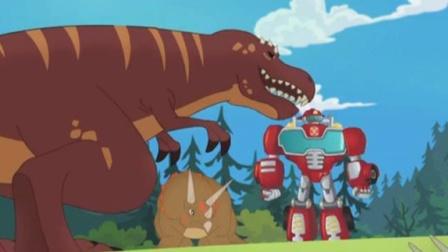变形金刚汽车人救援英雄历险记 救援机器人战队 擎天柱机器人 威震天 陌上千雨解说