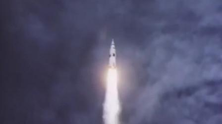 纪念阿波罗11号登月50周年 1分钟回看人类首次登月全过程