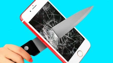 闺蜜PK恶作剧之战:创意DIY滑稽的手机恶作剧,谁的创意更厉害?