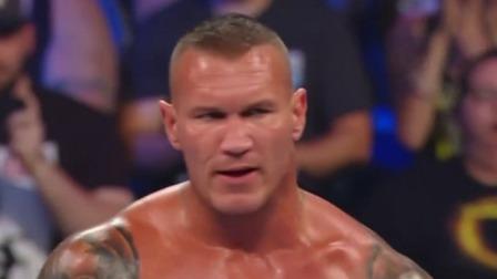 """科普送給對手一記""""天堂閃電"""",不料回頭""""毒蛇""""蘭迪奧頓RKO終結比賽"""