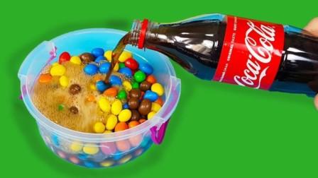 夏日食物恶作剧,可口可乐轻松DIY美味的松软蛋糕,原来这么简单