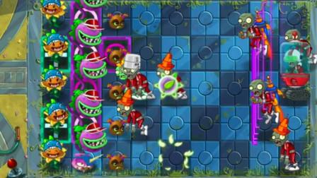 植物大战僵尸:大嘴花和野兽猕猴桃组合